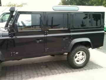 Scheibentönung Land Rover, Autocheiben tönen mit HP05